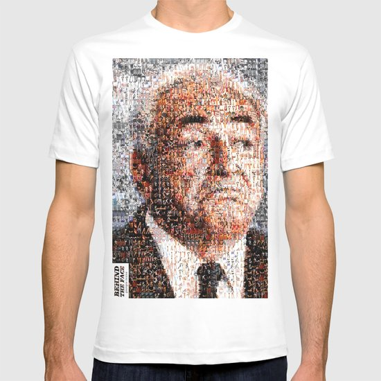 BEHIND THE FACE Dominique Strauss-Kahn | sexy girls T-shirt