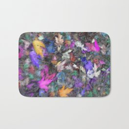 Autumn Through a Window Bath Mat