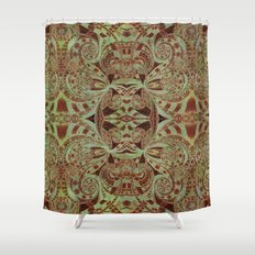 Indian Style G234 Shower Curtain