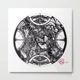 East and West Metal Print