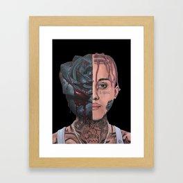 "Lil Skies ""Dark Rose"" Framed Art Print"