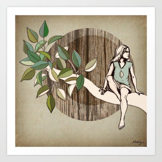 Natural Habitat Art Print