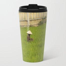 Rice Fields, Vietnam Travel Mug