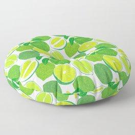 Lime Harvest Floor Pillow