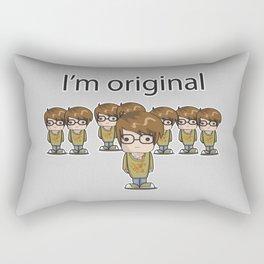 I'm Original Rectangular Pillow