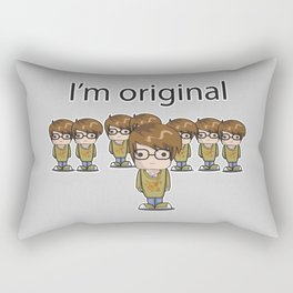 I'm Original Rectangular Pillow
