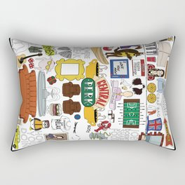 Collage Rectangular Pillow