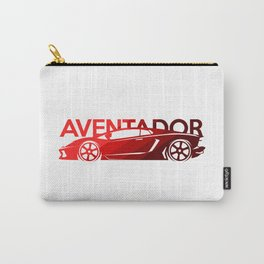 Lamborghini Aventador - classic red - Carry-All Pouch