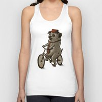 dogs Tank Tops featuring Dogs by Ronan Lynam