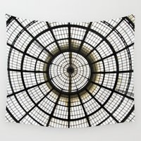 milan Wall Tapestries featuring Milan by Alev Takil