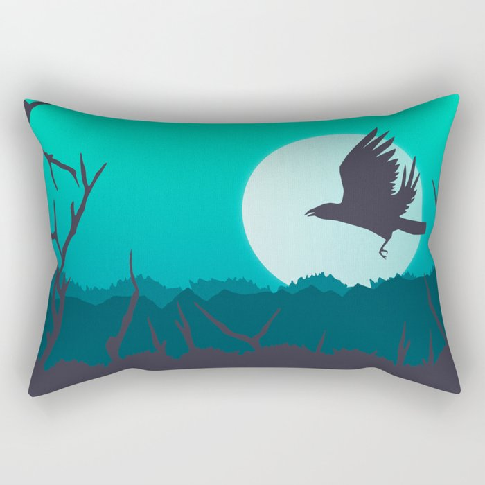 Midnight Rectangular Pillow