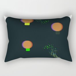 lamp ballons Rectangular Pillow