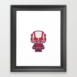 Insect Man Framed Art Print