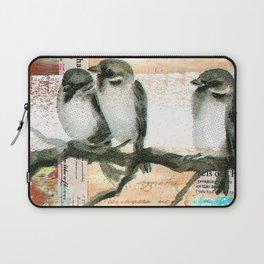 Vintage birds Laptop Sleeve