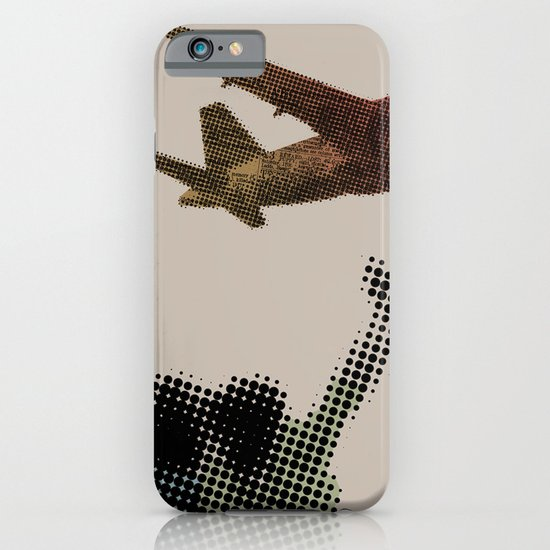 Dad's on that paper flight again iPhone & iPod Case