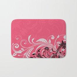 Vibrant Floral Nature Bath Mat