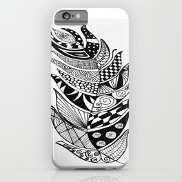 Feather design iPhone Case