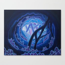 Phosphorecence Canvas Print
