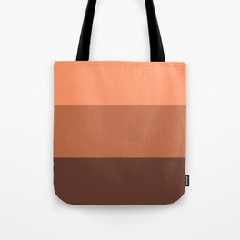 Peach Gradient Pattern Tote Bag
