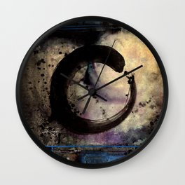 Being Within No. 4 by Kathy Morton Stanion Wall Clock