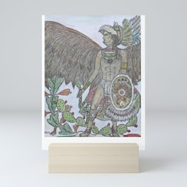 Azteca Mini Art Print