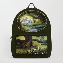 Enchanted Forest Cottage Backpack