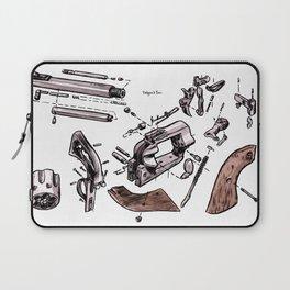 Exploded Gun Laptop Sleeve