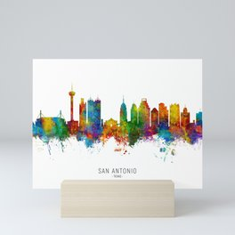 San Antonio Texas Skyline Mini Art Print