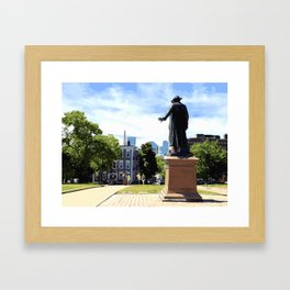 Battle of Bunker Hill, Boston, MA Framed Art Print