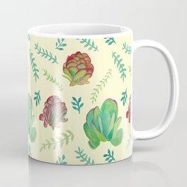 Paddle Plant Pattern Coffee Mug