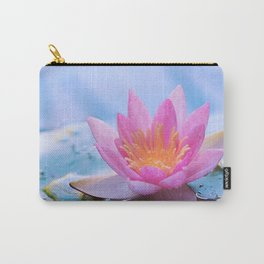 Lone Lotus Carry-All Pouch