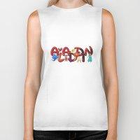 aladdin Biker Tanks featuring Aladdin  by Mix-Master