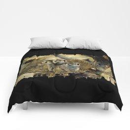 African Meerkat Trio Comforters