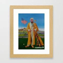 Donald Trump as African Dictator: Framed Art Print