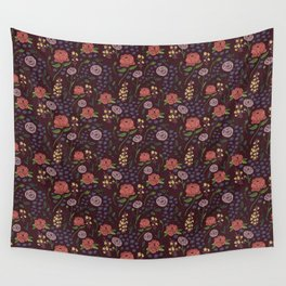 Vintage Peony Wall Tapestry