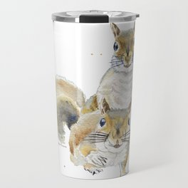 Two Squirrels Travel Mug