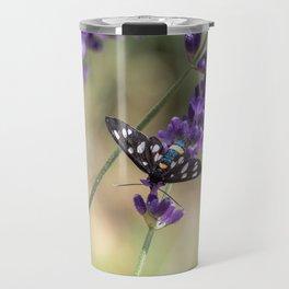 Amata Phagea on lavender Travel Mug