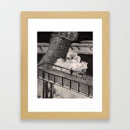 Demolition Ghost Framed Art Print