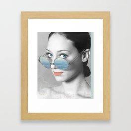 Still Cold Framed Art Print