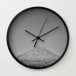 El Misti Volcano Wall Clock