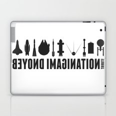 Beyond imagination: Sputnik 2 postage stamp  Laptop & iPad Skin