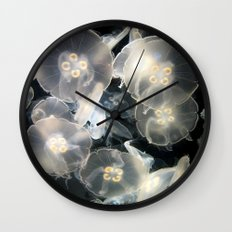 JellyFish Garden Wall Clock