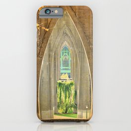 CATHEDRAL PARK ARCHES - ST. JOHNS iPhone Case