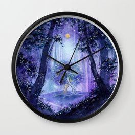 The Two Trees Wall Clock