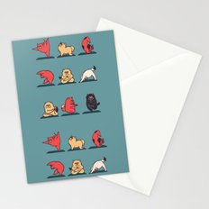 Cat Yoga Stationery Cards