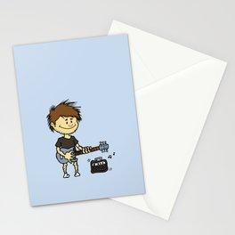 Guitar Boy Stationery Cards