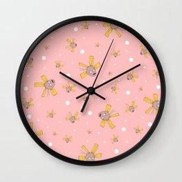Cynthia Pickles Doll Pattern Wall Clock