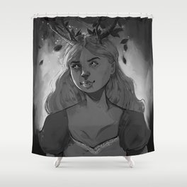 Fairy of the woods Shower Curtain