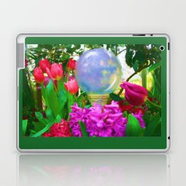 The Crystal Ball Oil Painting  Laptop & iPad Skin