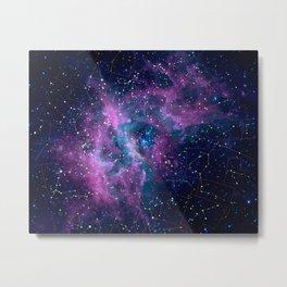 Pink nebula Metal Print